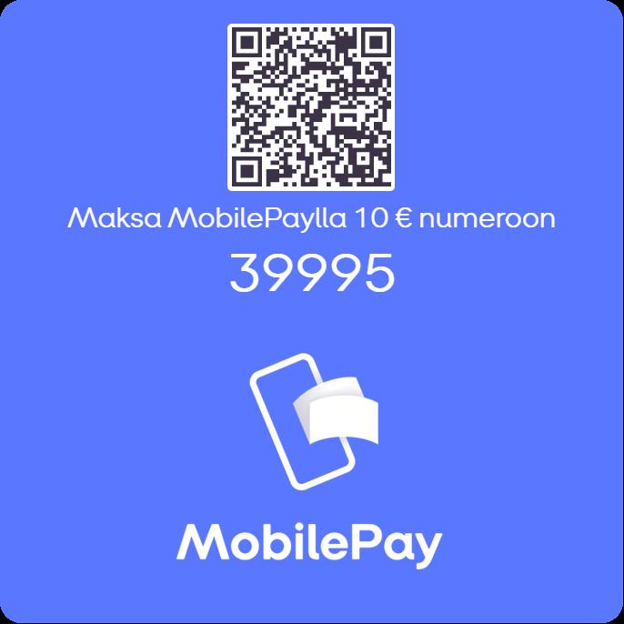 Linkki MobilePay-lahjoituksen tekemiseen